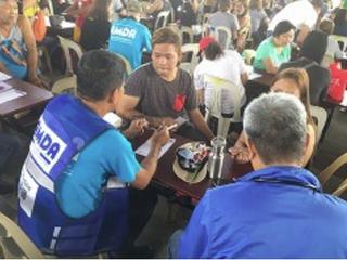AMDAへの支援をしました(フィリピン・タール火山噴火被災者緊急支援)
